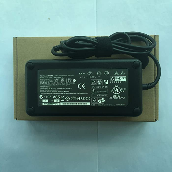 Genuine Power Supply ADP-150NB D 19.5V 7.7A 150W AC Adapter for ASUS All-in-One PC (AIO PC),G71V,G72Gx,G73Jh,G74SX,G53SX,G53S,G53SW Laptop Charger