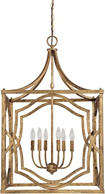 Capital Lighting 9481ag Blakely 3 Light Foyer Fixture