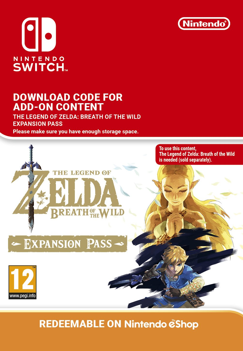 How to redeem your download code for nintendo wii u - The Legend Of Zelda Breath Of The Wild Expansion Pass Dlc Switch Download Code