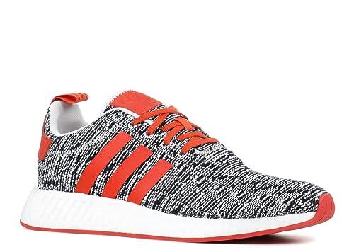 Womens Adidas Nmd R2 Pk White Black Red Uk Size 5