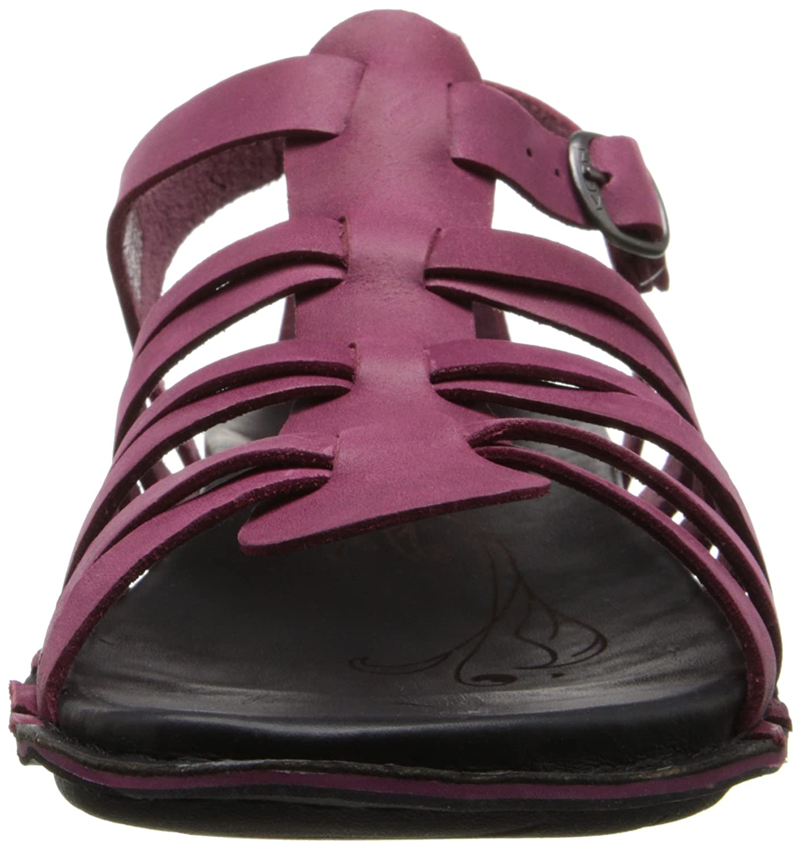 Amazon.com | KEEN Women's Alman Gladiator Sandal, Beet Red, 8 M US | Flats