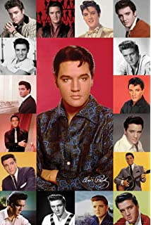 "Elvis Poster album collage 24/"" x 36/"""