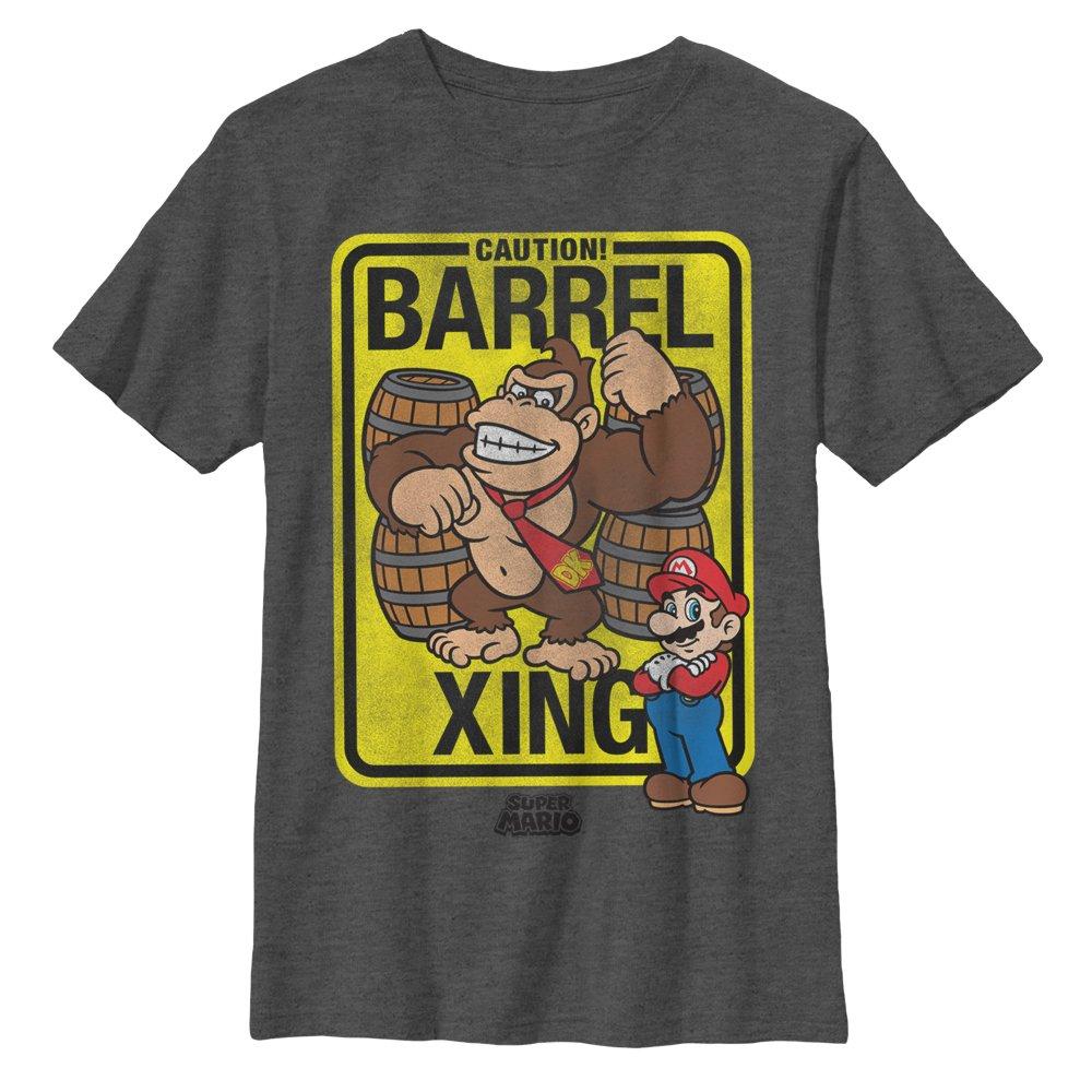 Nintendo Donkey Kong Barrel Crossing Tshirt