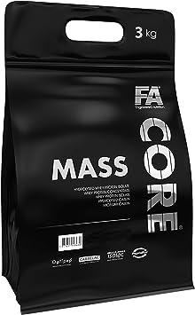 FA Core MassCore – 1 paquete – Mass Gainer – Suplemento de ...