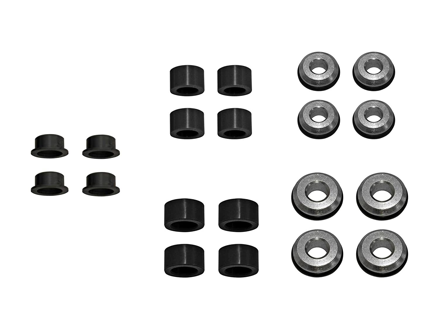 - Front and Rear Stronger Than Stock With a Better Price Point! 2016 ONLY SuperATV Heavy Duty HDPE A-Arm//Control Arm Bushing Kit for OE or SuperATV Arms for Polaris RZR 900//900 4//900 S