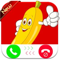 Banana Calling You - Free fake phone call ID - Prank