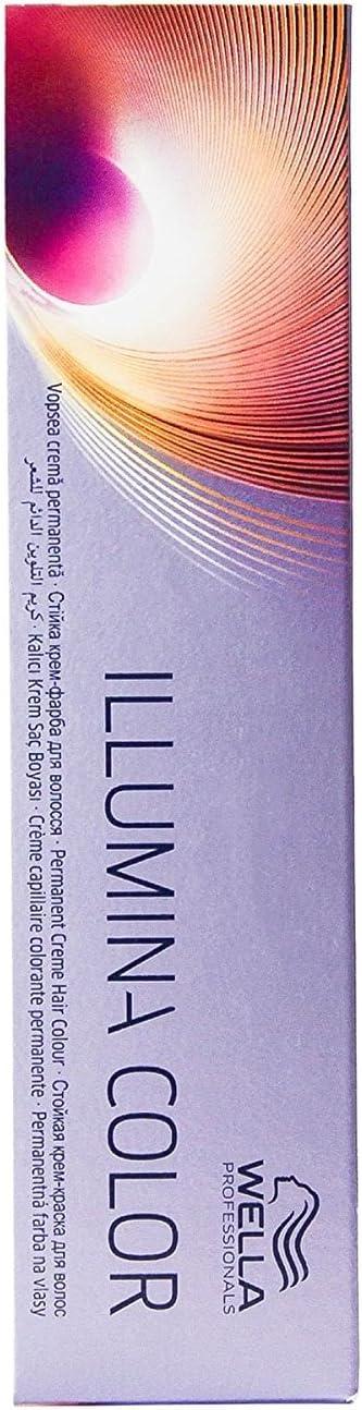 Wella Professionals Illumina Tinte Permanente, Tono 8 (Deal) - 50 ml