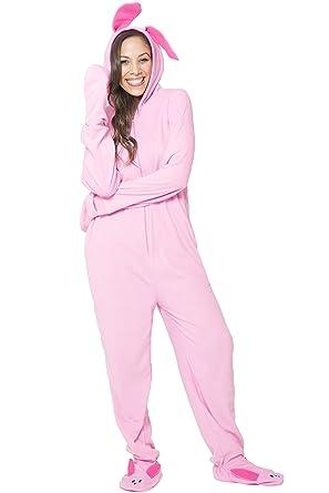 52c7c4055 Christmas Story Women's Deranged Bunny One Piece Pajama at Amazon ...