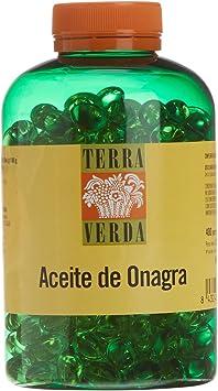 TERRA VERDA - Aceite Onagra 500Mg 400Perlas: Amazon.es: Salud y cuidado personal