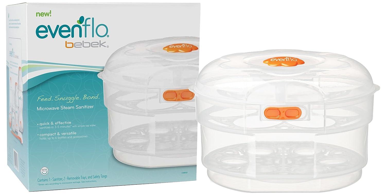 Amazon.com: Evenflo bebek Microondas Sanitizer: Baby