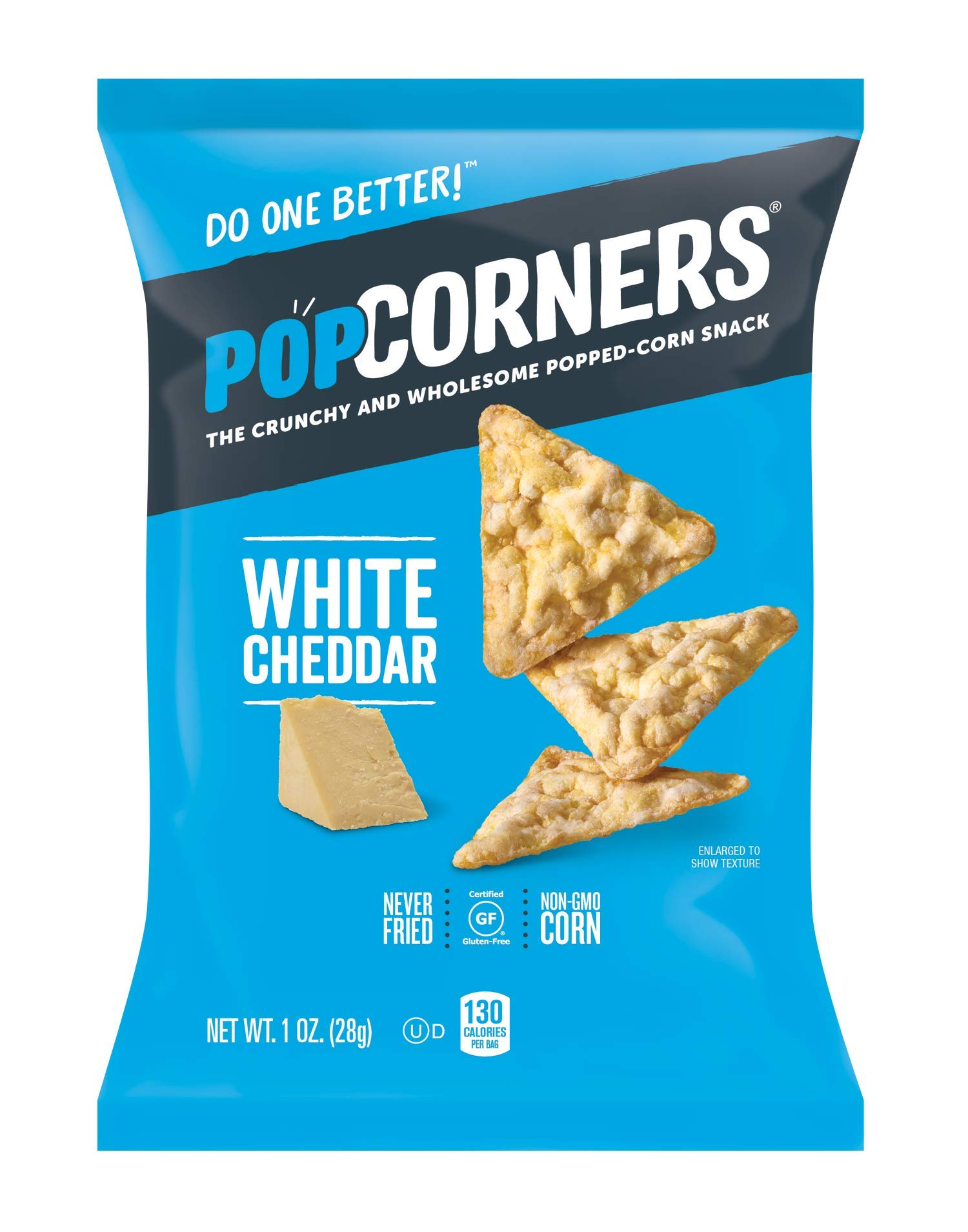 PopCorners Snacks Variety Pack | Gluten Free Snack Packs | Kettle Corn, White Cheddar, Sea Salt | (18 Pack, 1 oz Snack Bags) by Popcorners (Image #3)