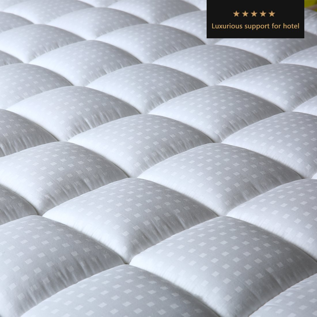 Balichun Fitted Quilted Mattress Pad Cover 8 21 Inch Deep