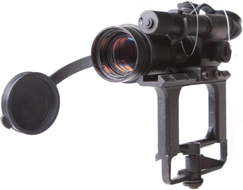 BELOMO PK-AS V RED DOT BLACK DOT Rifle Scope SIDE MOUNT COLLIMATOR SIGHT