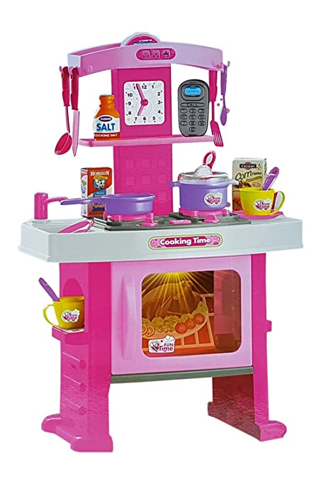 Buy Zest 4 Toyz Big Size Kitchen Pretend Play Set Toy With Music And