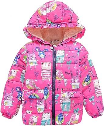 HWZZ 3-10 Años Niños Chica Chico Chaqueta Bebé Cremallera Invierno Grueso Largo Abrigo Caliente de la Moda de los Niños Ropa de Abrigo