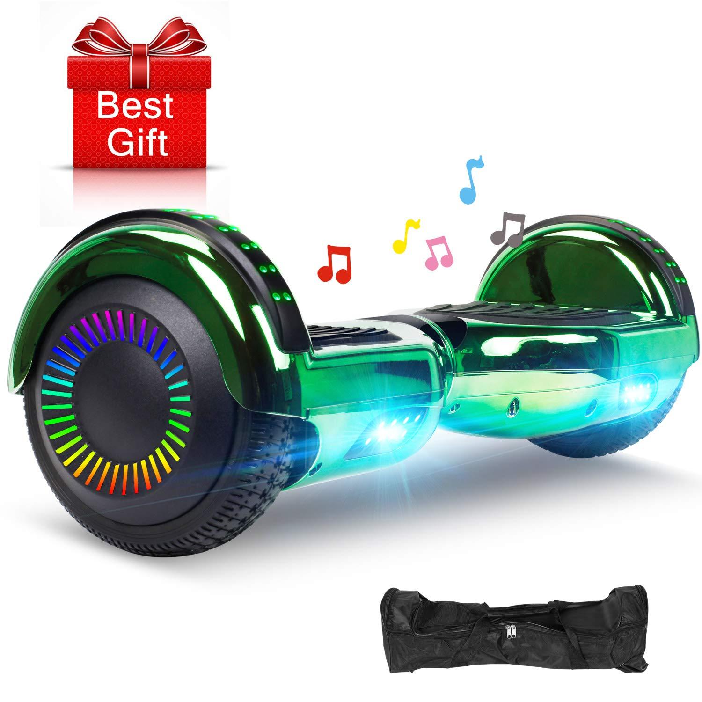 EPCTEK Hoverboard - UL2272 Self Balancing Hover Board w/Bluetooth Speakers, LED Light