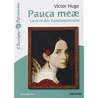 Pauca meae : Livre IV des Contemplations