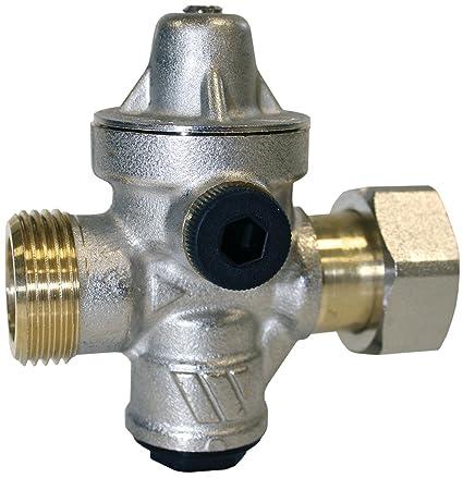 Watts-Reductor de presión para calentador-Reductor de presión para cámara REDUFIX aislado,