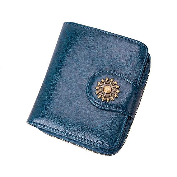🌹🌹🌹Manadlian Bolso para tarjeta de monedero de tarjeta de ...