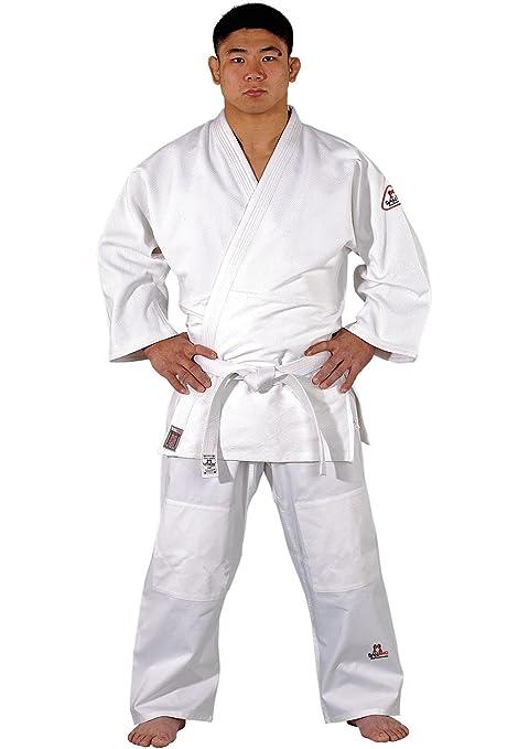 Traje de judo Tong de IL Dojo Line de DANRHO, color blanco ...