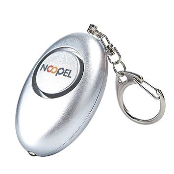 Alarma de seguridad personal de 120 dB con llavero y ...