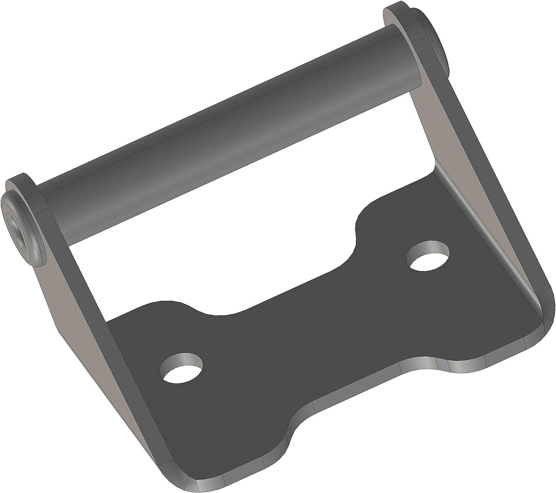 Mytech - Kit de enganches de correa para maletas o baúl (2 unidades) - Compatible con Moto Guzzi V85TT y Model X.