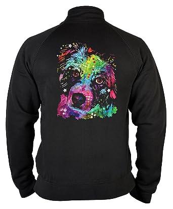 Kapuzenpullover Geschenk Sweatshirt Hund Neon Hoodie Australian Sheperd