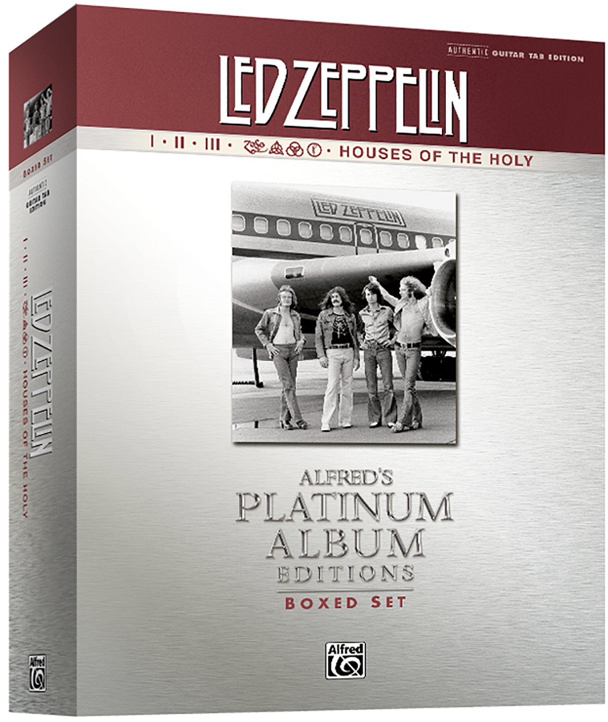 Amazon led zeppelin i houses of the holy boxed set platinum amazon led zeppelin i houses of the holy boxed set platinum guitar authentic guitar tab book boxed set alfreds platinum album editions hexwebz Choice Image