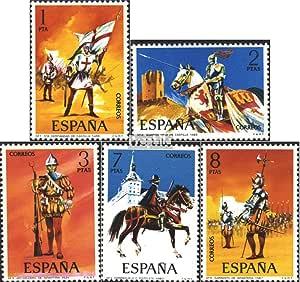 Prophila Collection España Michel.-No..: 2034-2038 (Completa.edición.) 1973 Uniformes Militares (Sellos para los coleccionistas) Militar: Amazon.es: Juguetes y juegos