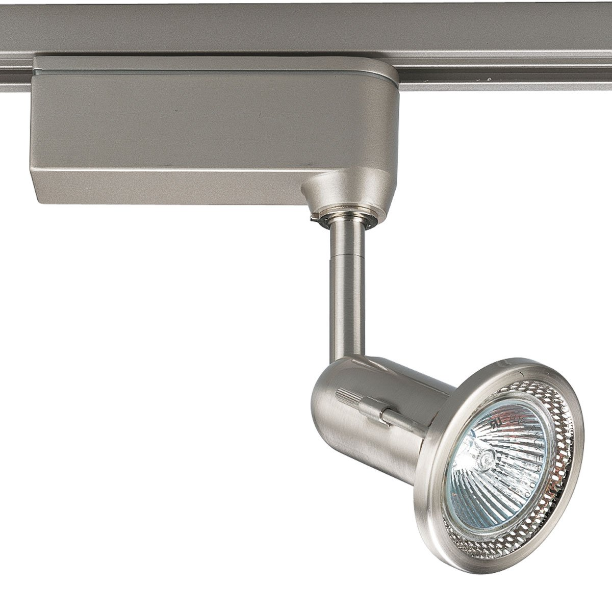 Progress Lighting P6104-09 12 Volt Low Voltage MR16 Fixed Gimbal Track Head, Brushed Nickel