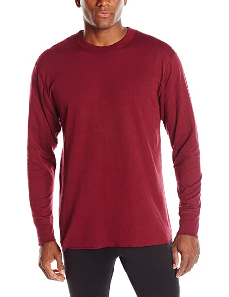 e847769ce9014 Duofold Men s Mid-Weight Thermal Crew-Neck Shirt at Amazon Men s Clothing  store  Base Layer Underwear