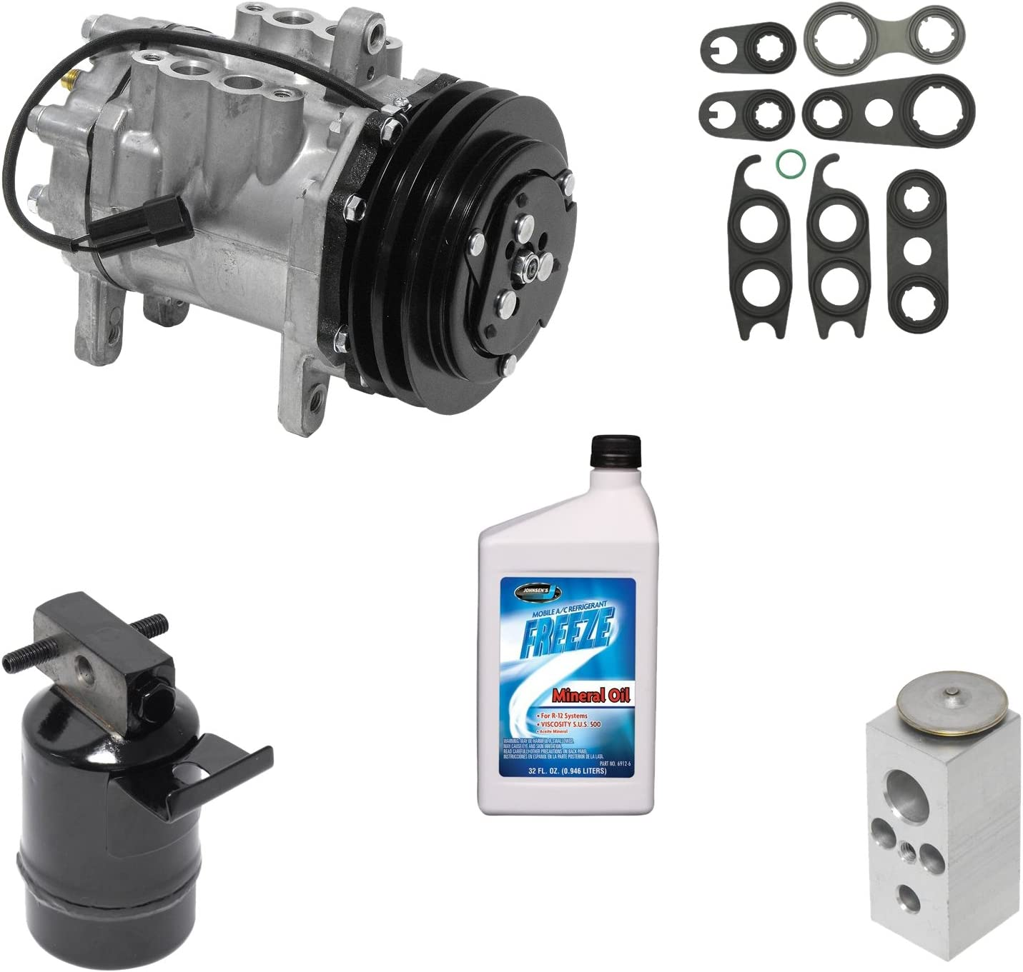 Universal Air Conditioner KT 1850 A//A//C Compressor//Component Kit