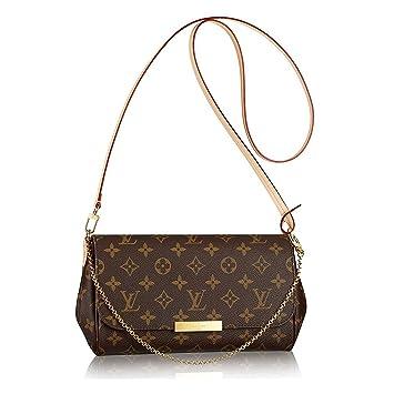 Louis Vuitton Favorite mm Monogram sur toile Cluth Sac Sac à main Article : M40718 fabriqué