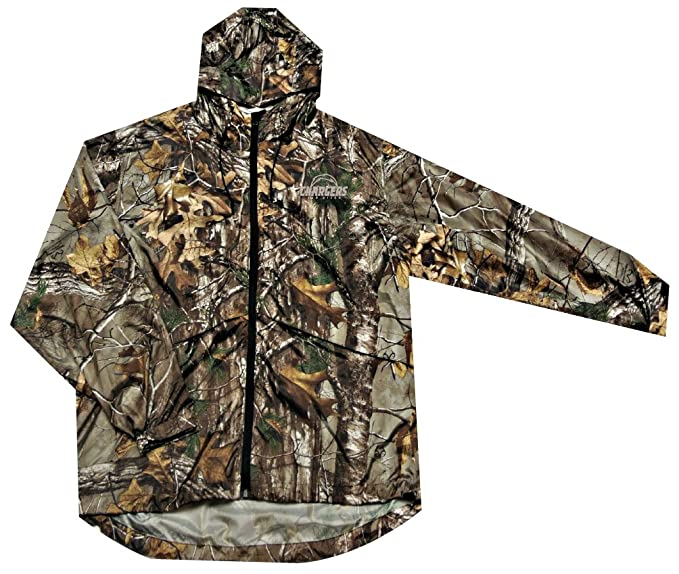 new arrival 3ffc5 c8393 NFL San Diego Chargers Sportsman Windbreaker Jacket, Real Tree Camouflage,  4X