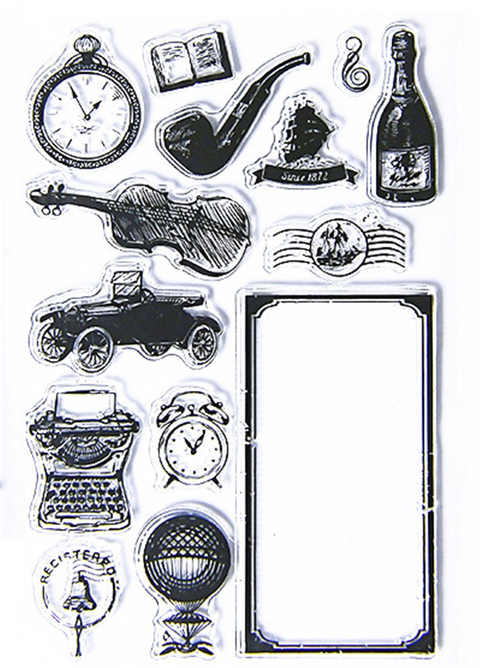 Layhome Stamp Transparent Handmade Cards Scrapbooking 10x15cm (#61)