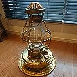 美品 日本船燈 ニッセン FREESIA フリージア ゴールドフレーム 石油ストーブ IS-3DX