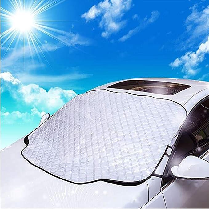 Sunshade Protector contra Los Rayos Solares Protector contra Los Rayos UV Mantenga El Coche Fresco Protector contra La Nieve contra El Hielo Protector De ...