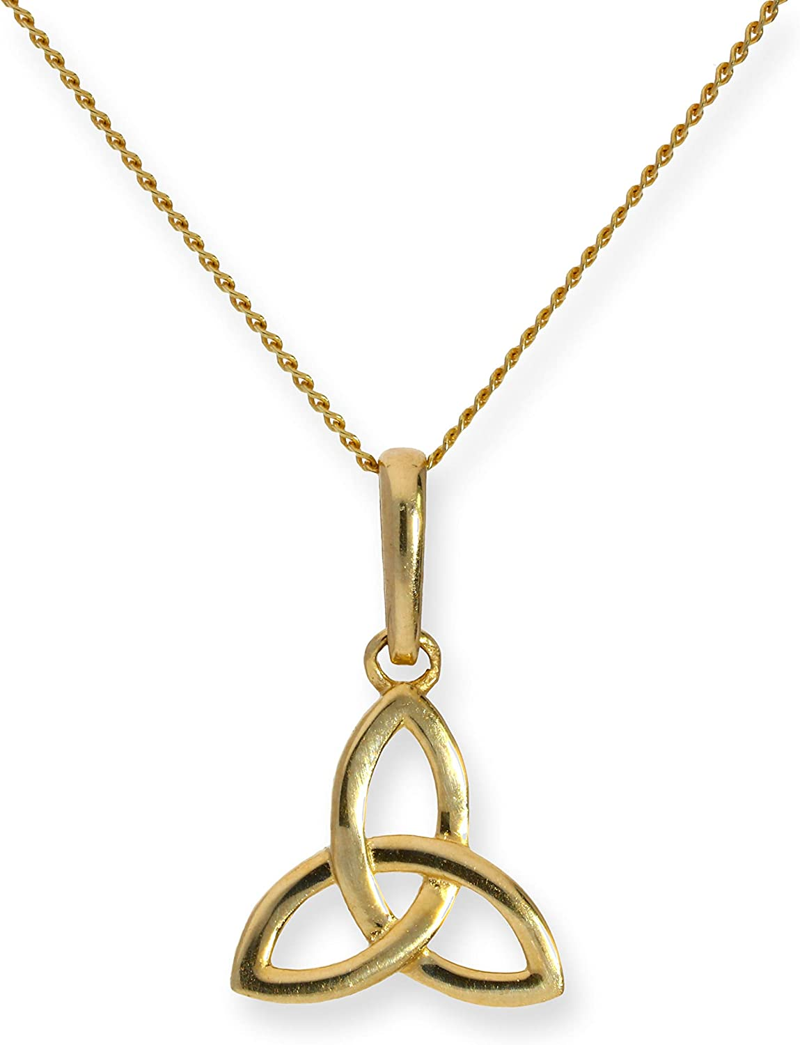 Real 375 9ct Gold /& Clear CZ Crystal Cut Out Heart Necklace Necklace