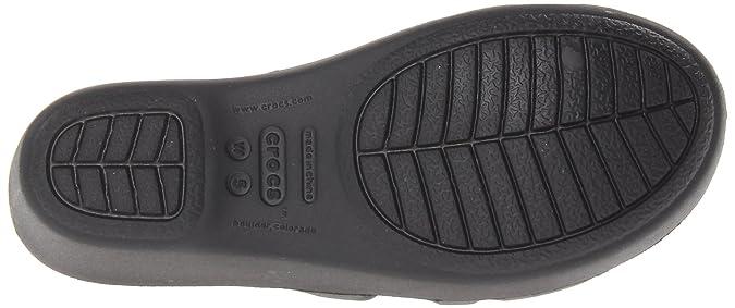 4c07ef9f91f0 Crocs Shoes - Rhonda Wedge Sandal - Black