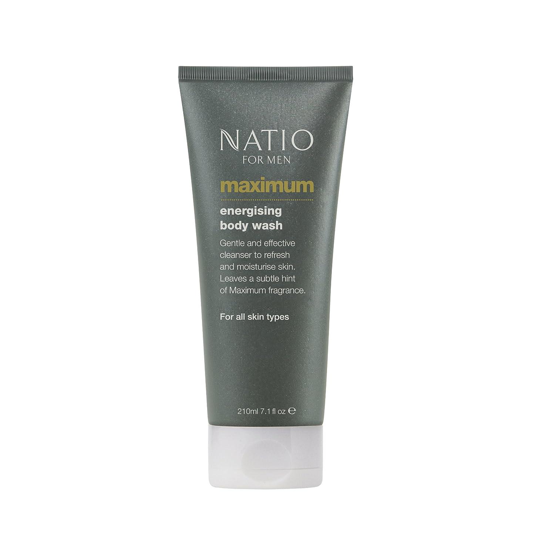 Natio Men's Maximum Energising Body Wash 210ml B00KPT8HMY