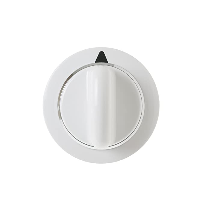 General Electric WE01X20374 Dryer Timer Knob Assembly. White