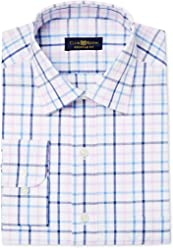 Club Room Mens Regular Fit Checkered Dress Shirt
