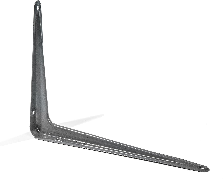 Ultra Hardware 96121 Shelf Brackets Grey, Pack Of 20: Home Improvement