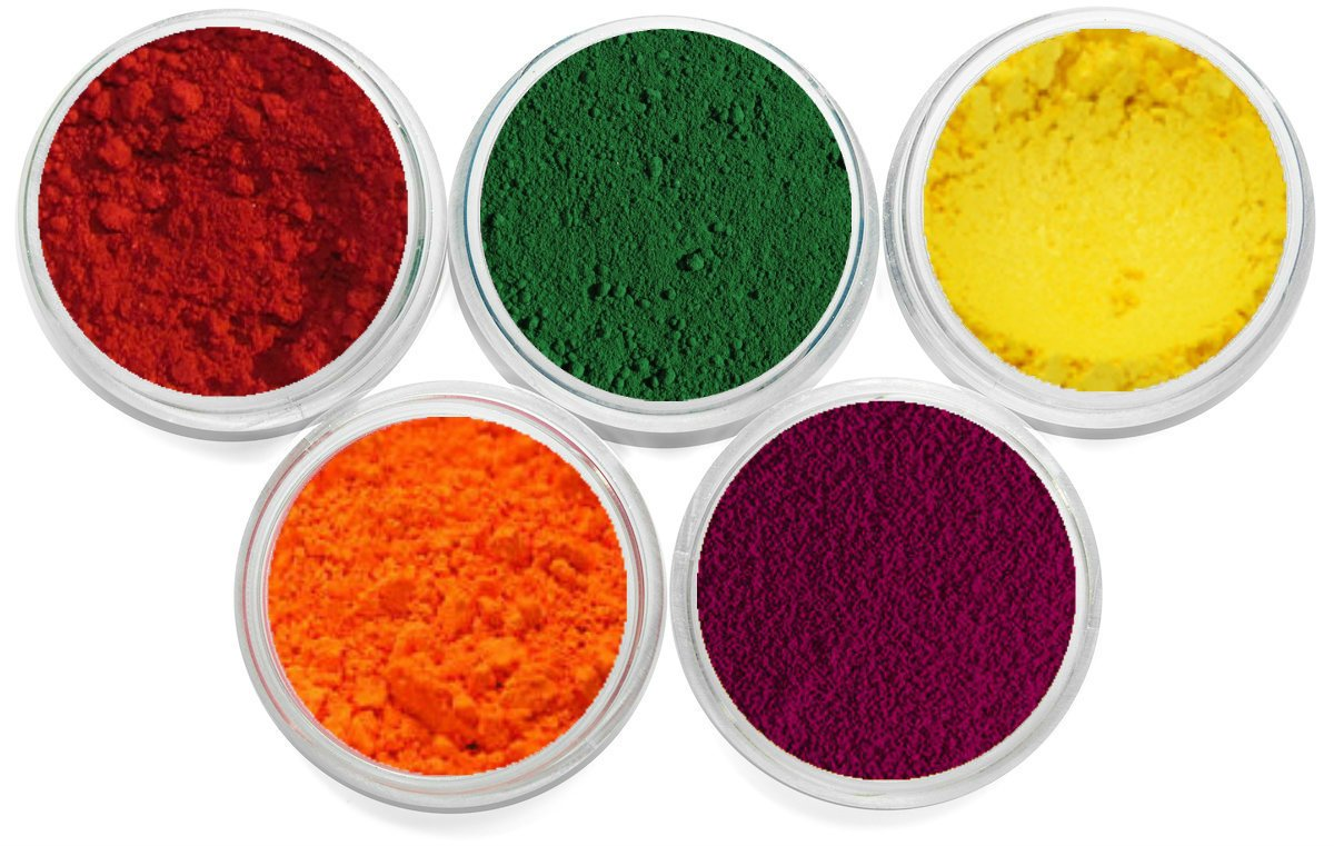 Cosmetic Grade Mineral Soap Dye Pigment Soap Colorant. Packed In 3 Gram Jar Set.