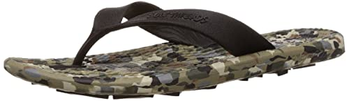 a81805f5da86 Sole Threads Men s Everlast Military Olive Flip-Flops and House Slippers -  10 UK (