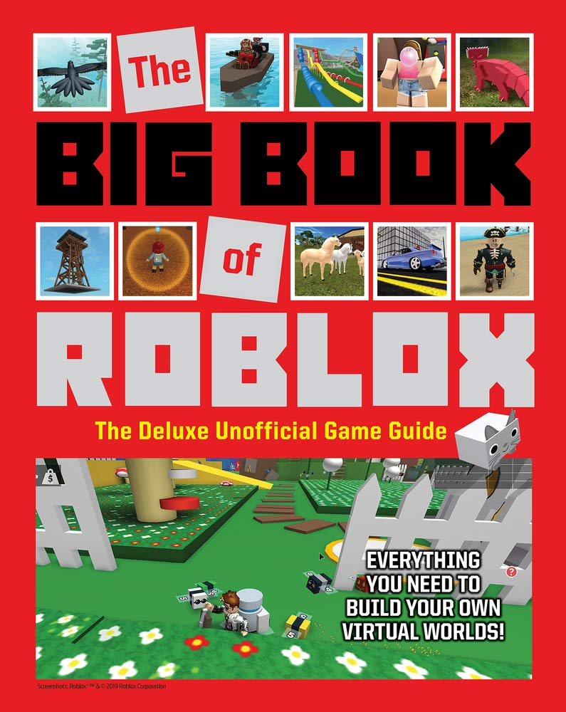 The Big Book Of Roblox The Deluxe Unofficial Game Guide Triumph