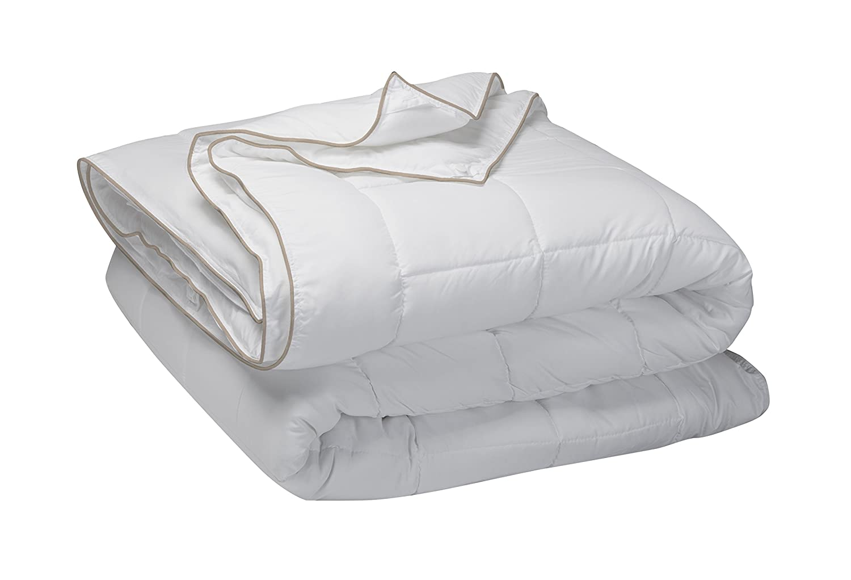Set de descanso Pikolin Home para cama 180 - Relleno nórdico cuatro estaciones dúo de plumón de oca 92%, dos almohadas viscoelásticas (35 x 90 cm) y ...