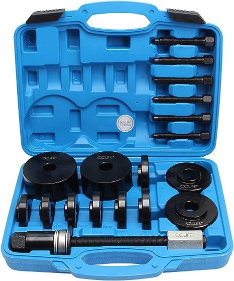 Cclife 19tlg Universal Radlager Radnabe Abzieher Radlagerwerkzeug Montage Demontage Werkzeug Set Auto