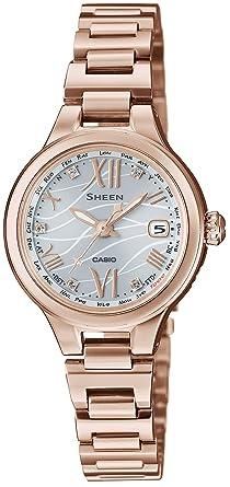 200d4c246d Amazon | [カシオ]CASIO 腕時計 SHEEN Voyage Series 世界6局電波対応 ...