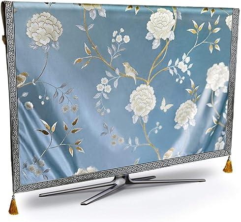 Cubiertas De Tv TV cubierta de polvo de gama alta flor de mal tiempo ya prueba